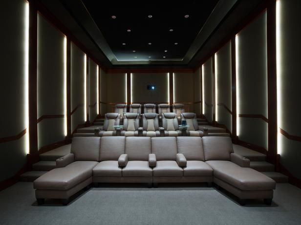 Cedia Awards 2014 Home Theaters 6 3D Theater With Interesting Seating Opti