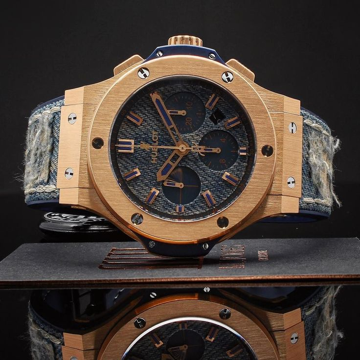 Tear it up this summer!  Limited #jeans edition #Hublot #BigBang available now Enquire on WhatsApp!