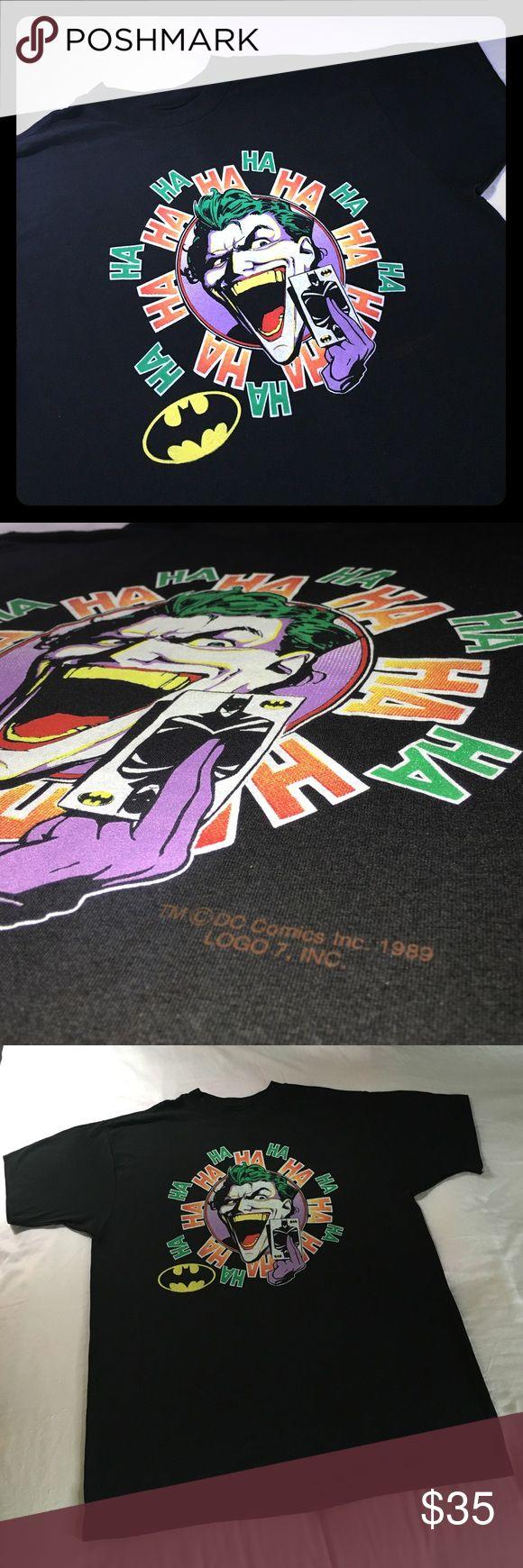 T shirt design on queen city - Stellar 1989 Batman Joker T Shirt A Condition