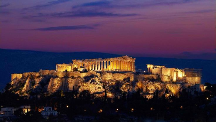 Acropolis and Parthenon by night !