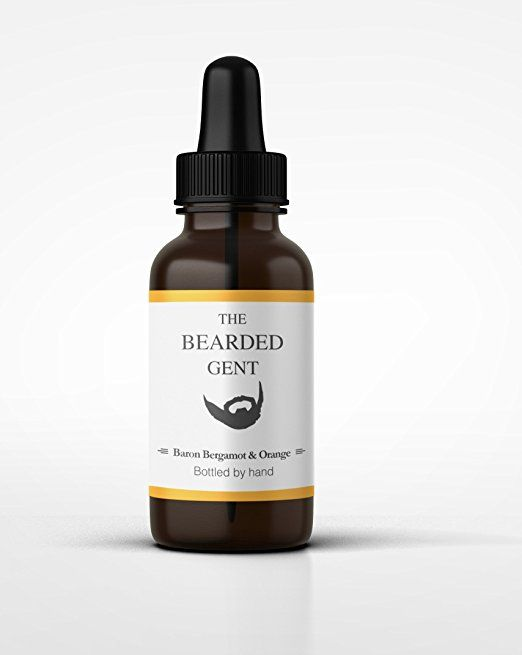 The Bearded Gent's Beard Oil - For a thicker, softer and fuller beard! - 14 Scents available! 10ml 30ml or 100ml! (Bergamot & Orange (30ml))
