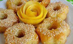 Σιροπιαστά κουλούρια λεμονιού - Συνταγές Μαγειρικής - Chefoulis