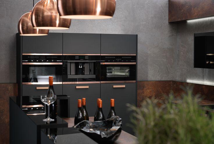 Metallic interior inspiration: copper accents