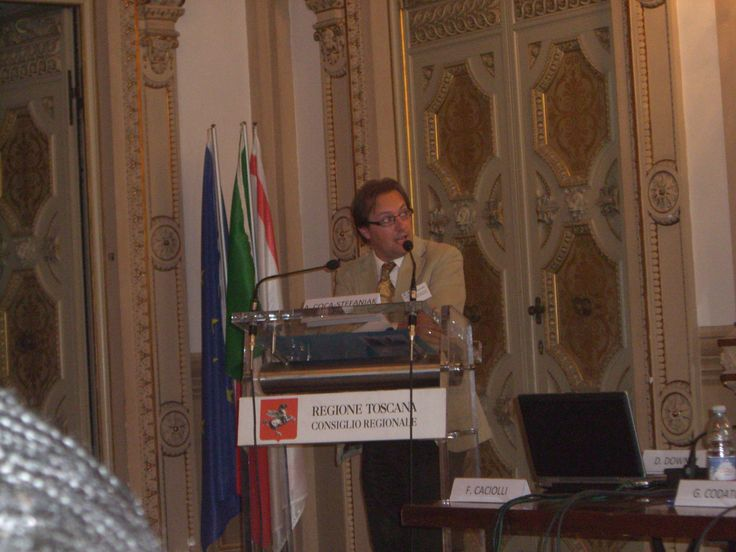 Andres Coca - Stefaniak, meeting on Town Centre Management in Florence, Italy.