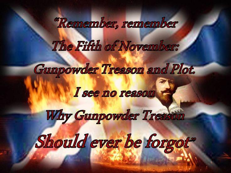 Remembering the Gunpowder Plot