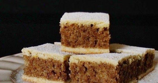 A Mákos kocka receptje alapján készült sütemény, most dióval.    Hozzávalók: 24 x 36 cm-es tepsihez   A tésztához  30 dkg liszt  ...
