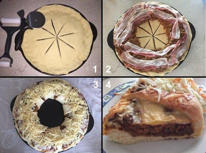 The Pampered Chef: Burgerkranz vom Grillstein