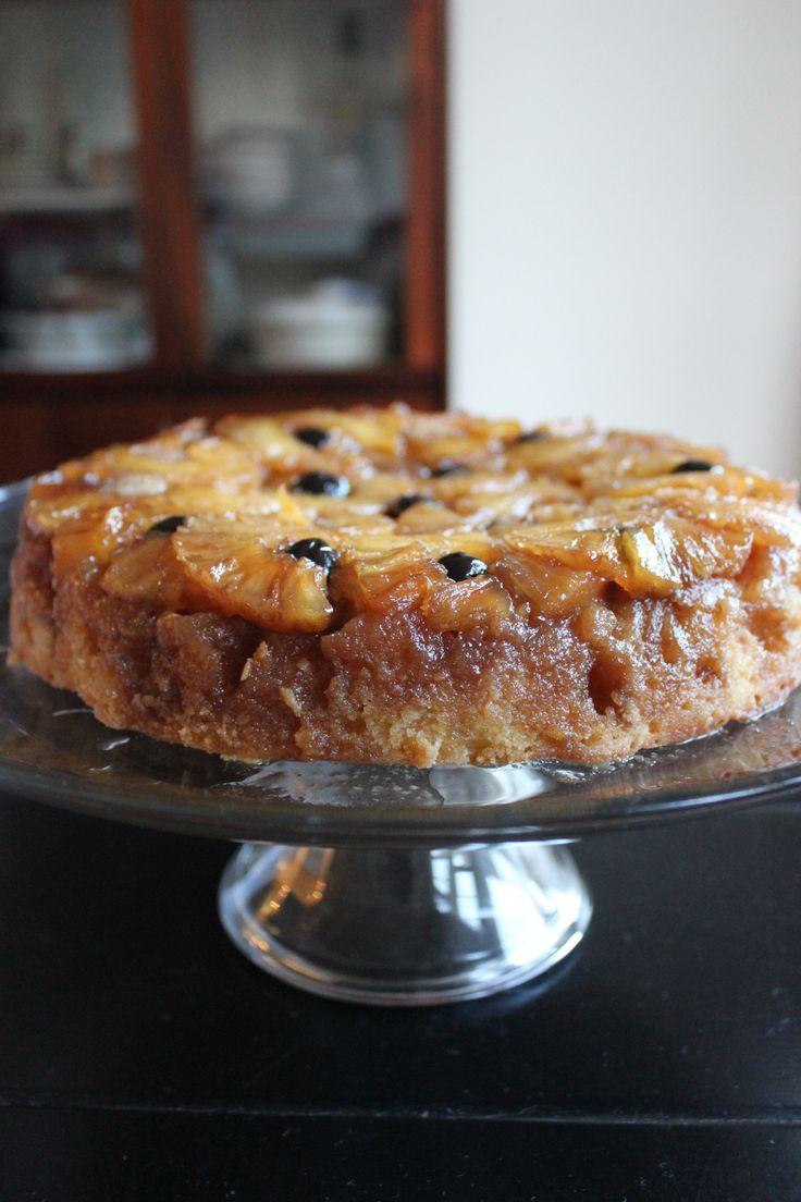 Pineapple Upside-Down Cake ala Thomas Keller