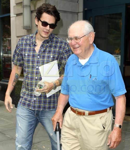 Photo of John Mayer & his  Father  Richard Mayer