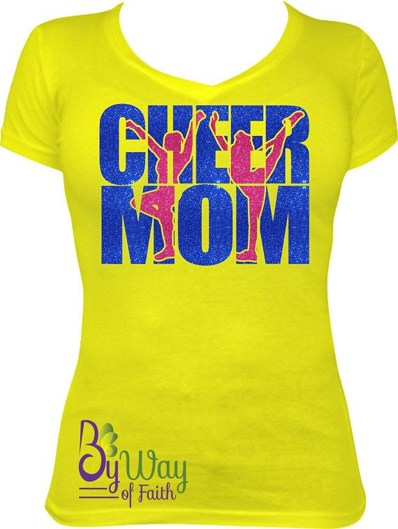Check out this item in my Etsy shop https://www.etsy.com/listing/252862658/cheer-mom-custom-bling-shirt-you-pick
