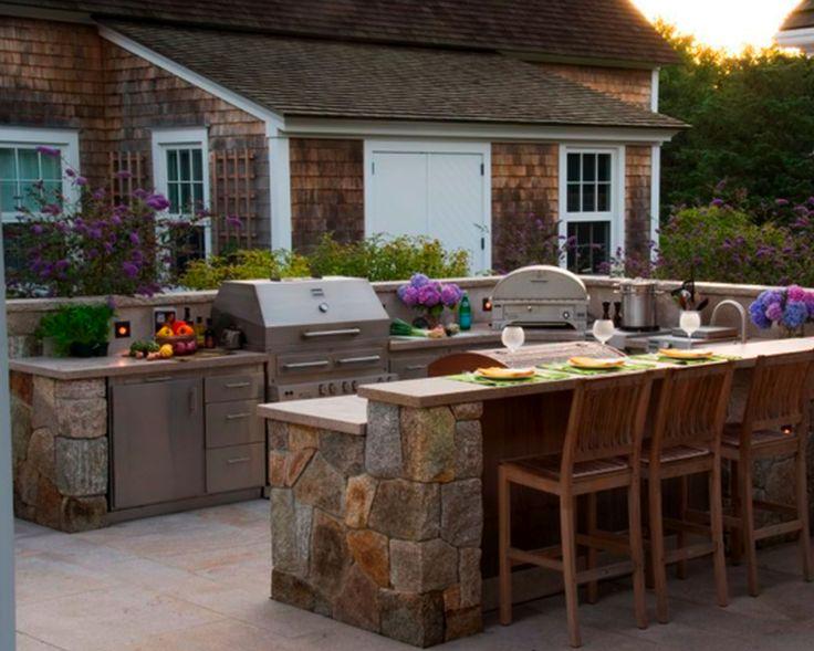best 25+ prefab outdoor kitchen ideas on pinterest | portable