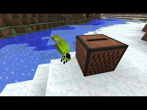 Minecraft Mac - Dinnerbone The Parrot [40] - YouTube