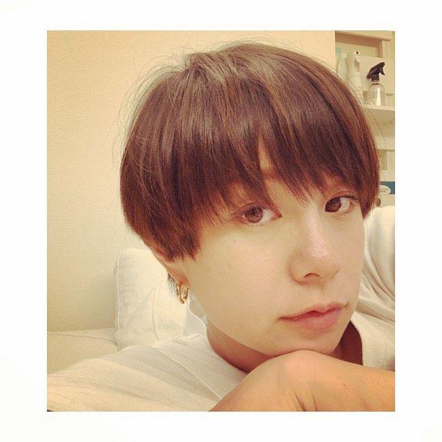 田中美保 On Instagram 今日もアトリエマキタ カットしてもらい