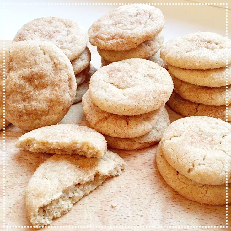 Lizzy bakt: Amerikaanse snickerdoodle cookies http://www.coffeeandkids.nl/home/lizzy-bakt-amerikaanse-koekjes