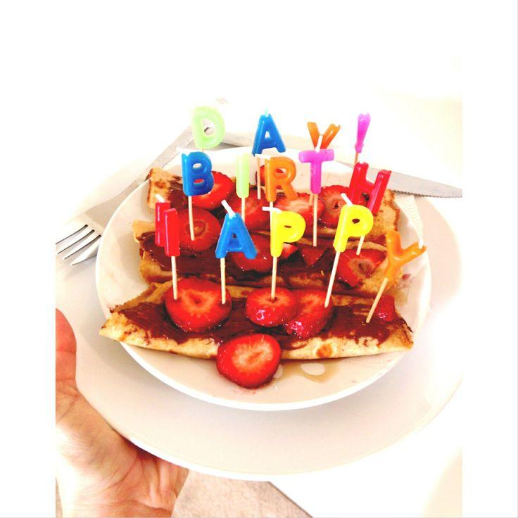 16 Best Birthday Breakfast Images On Pinterest