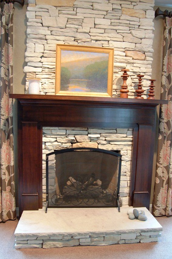 Custom Made Craftsman Fireplace Surround Mission Style