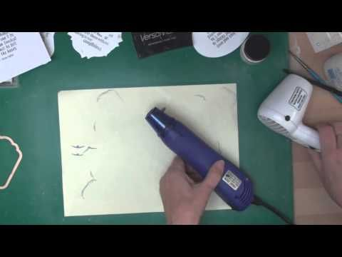 ▶ Tips for Perfect Stamping, embossing, & die-cutting sentiments.  (card-making-magic.com) - YouTube
