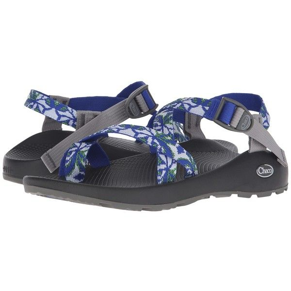 Chaco Z/2 Ultraviolet Classic (Blue Petal) Men's Shoes ($105) ❤ liked on Polyvore featuring men's fashion, men's shoes, mens blue shoes, mens floral shoes, mens buckle shoes, mens platform shoes and mens shoes