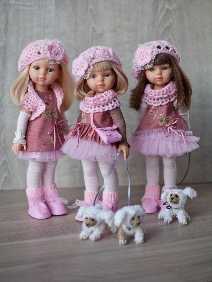 Конкурс 2016. Номинация № 3. Моя коллекция.   Испанские куклы Paola Reina