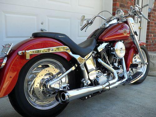 1998 Harley Davidson Fatboy Custom FLSTF, Price:$12,500. Birmingham, Alabama #hd4sale #motorcycle
