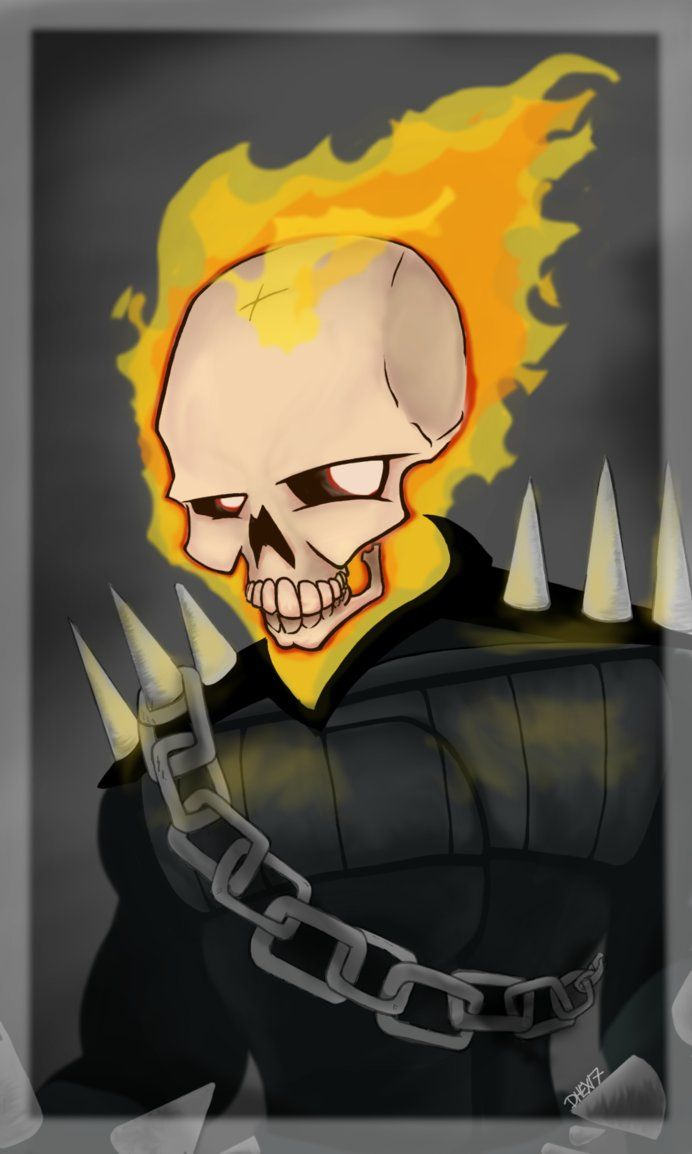 Ghost Rider 048 D By Dhexed1deviantartcom On At Deviantart