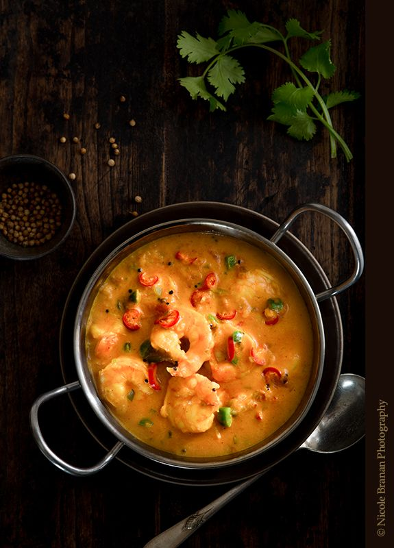 Shrimp Coconut Curry - The Spice Train