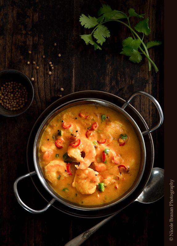 Shrimp Coconut Curry