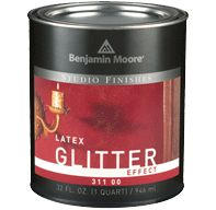 My life has changed forever upon discovery of glitter wall paint.