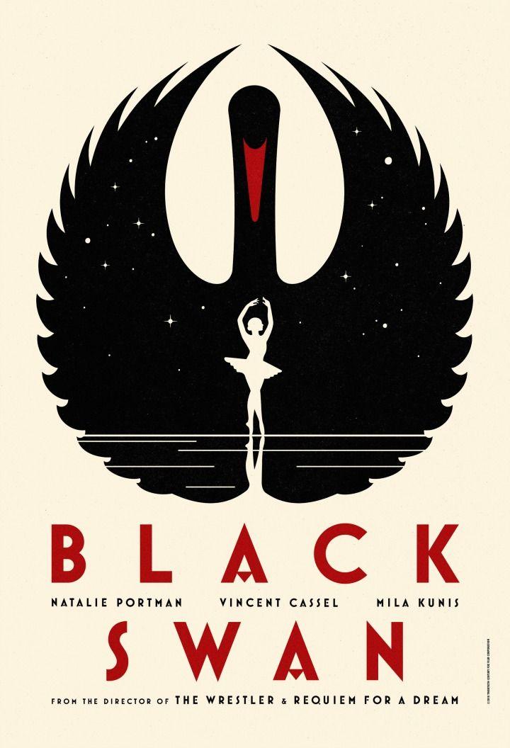 Black Swan poster / Darren Aronofsky S2