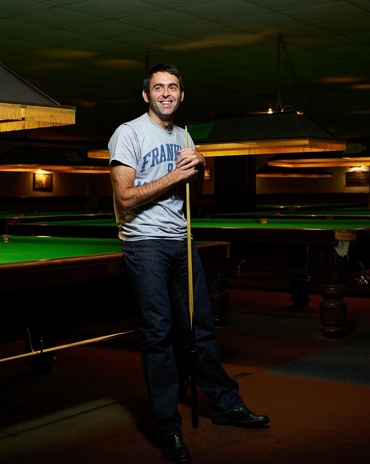 Ronnie O'Sullivan | Colin Bell photographer. Portrait, advertising, celebrity.