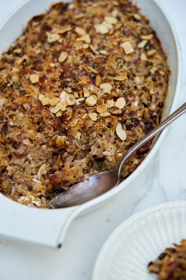 A really great mushroom casserole   – To Eat