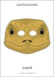 Lizard role-play masks (SB9963) - SparkleBox