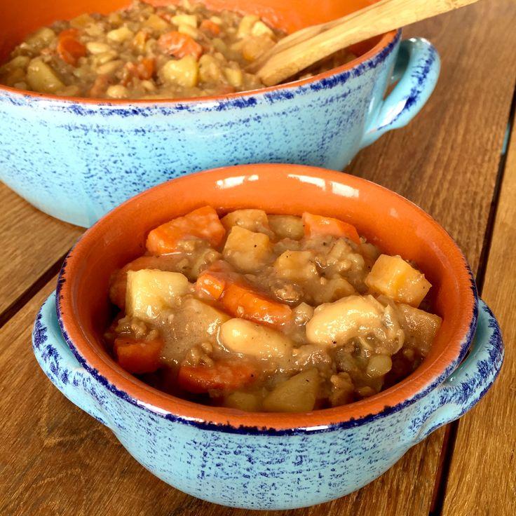 Le repas idéalsi vous voulez que vos enfants mangent trois bol. Ingrédients (pour 6-8 personnes): 1 gros oignon, haché 1 gousse d'ail, hachée 1 petit navet, en dés 2 grosse carottes, en demi…