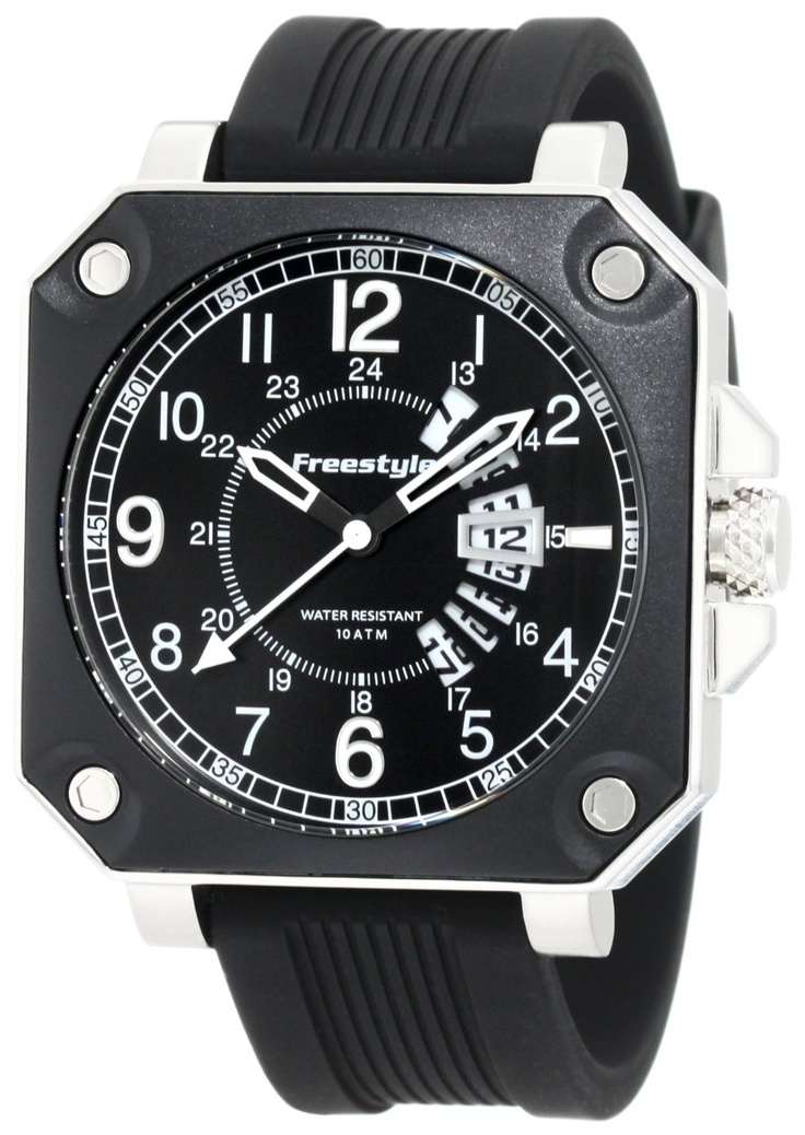 17 best images about style watch collections style men trooper square case silicone strap watch 70 95 amzn com