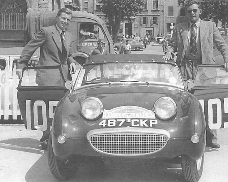 Rally Coupe Des Alpes 1958 Frogeye Austin Healey Sprite