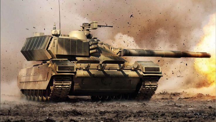 Russian T90AM Main Battle Tank