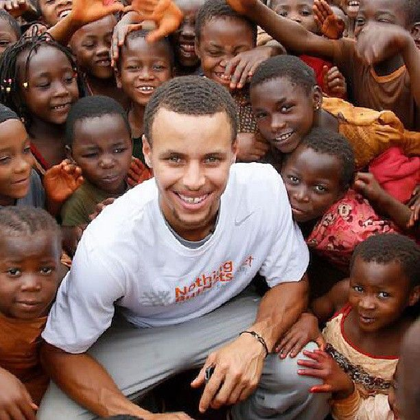 Stephen Curry is currently in Tanzania to distribute bed nets to fight the spread of malaria. Find out more about his trip at warriors.com/nothingbutnets #NetsforTZ