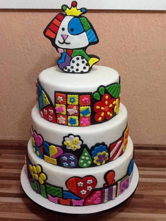 Britto's cake - Cake by claudia borges