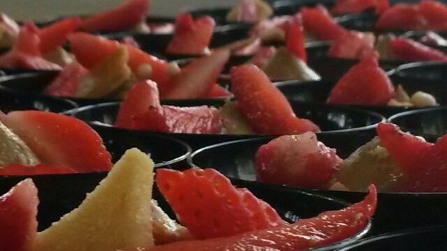 Crème brûlée réglisse fraise