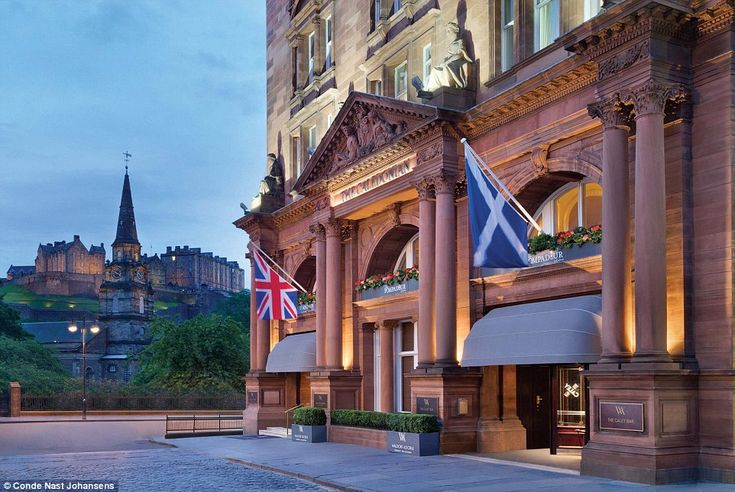 New kid on the block: Waldorf Astoria Edinburgh has been named Best Newcomer in the UK an...