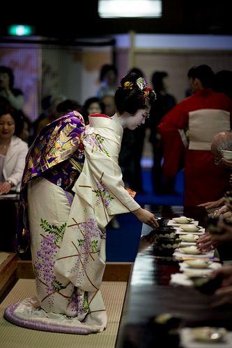 Tea ceremony of Miyako Odori #12