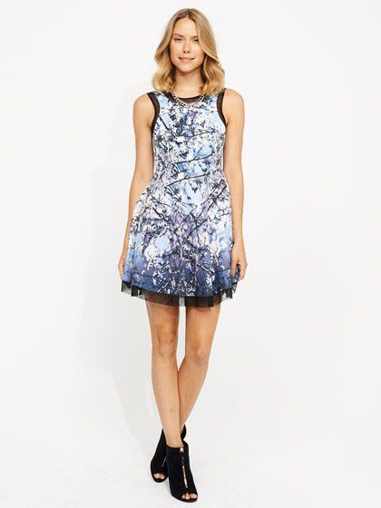 Image for Winter Blossom Scenic Dress from Portmans