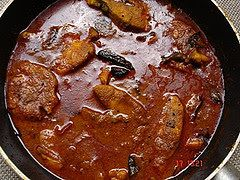 Fish Curry, Sri Lankan food recipes, Kerala Red fish curry recipe