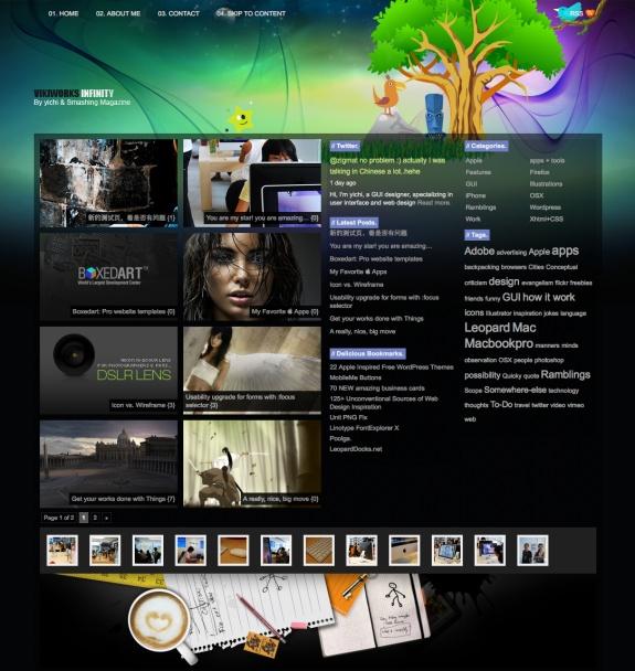 Stunning WordPress Themes