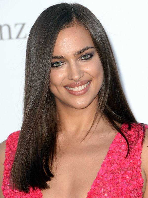 irina shayk hair irina shayk amfar gala cannes 2013 414x530 the big red carpet beauty - Coloration Chatain Fonce