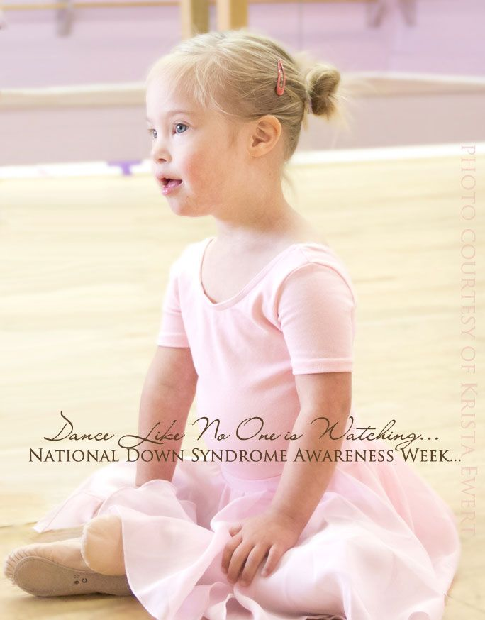 "In honor of National Down Syndrome Awareness Week: ""Dance Like No One is Watching"" ...a special post on teaching inclusion, tolerance, sensitivity, and love to our #children."