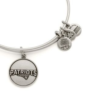 The Paper Store Alex and Ani New England Patriots Logo Charm Bangle