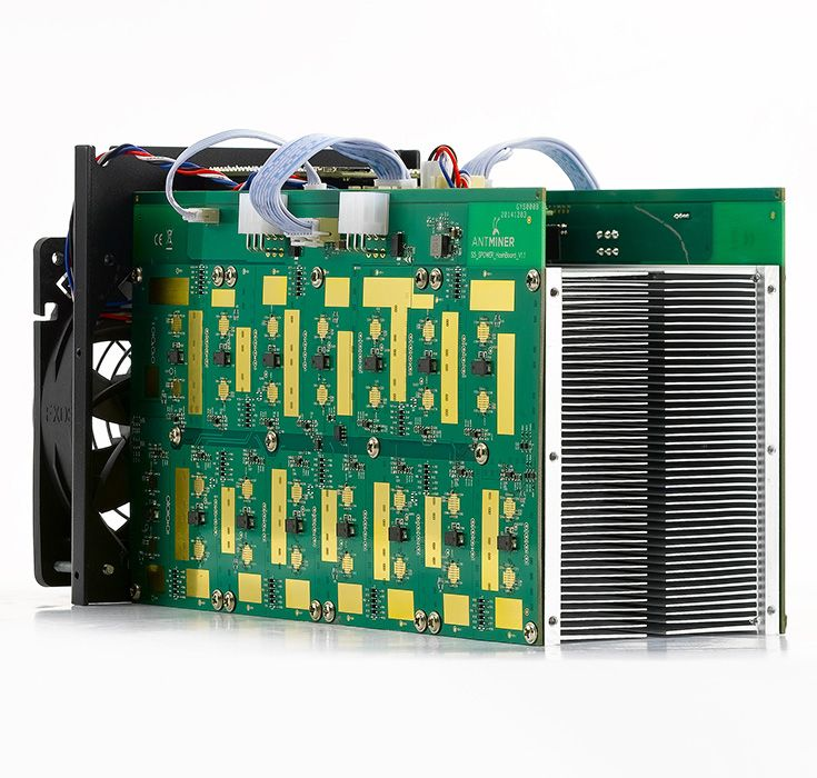 Discover the components used in ASIC mining rigs.  Select the parts to most successfully mine the cryptocurrency of your choice.