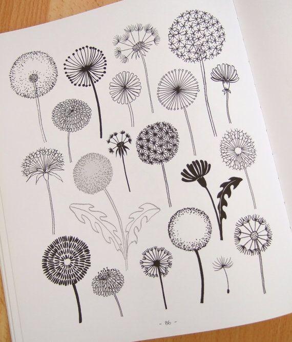 dandelion vector doodle - Buscar con Google                                                                                                                                                                                 Más