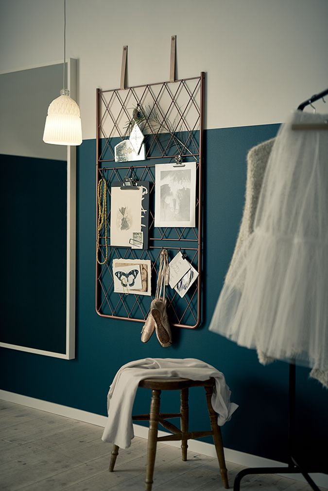 Best 25 two tone walls ideas on pinterest two toned for Ikea barso trellis